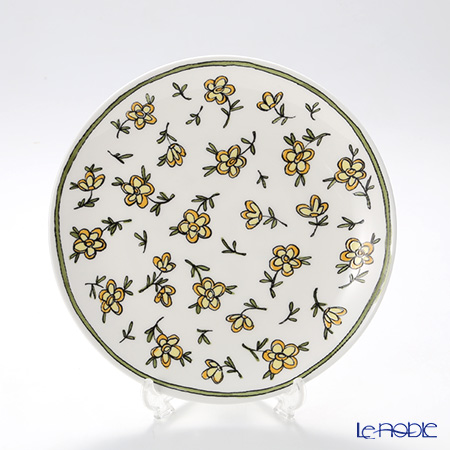 Twig New York Heritage Plate 21 cm, yellow daisy