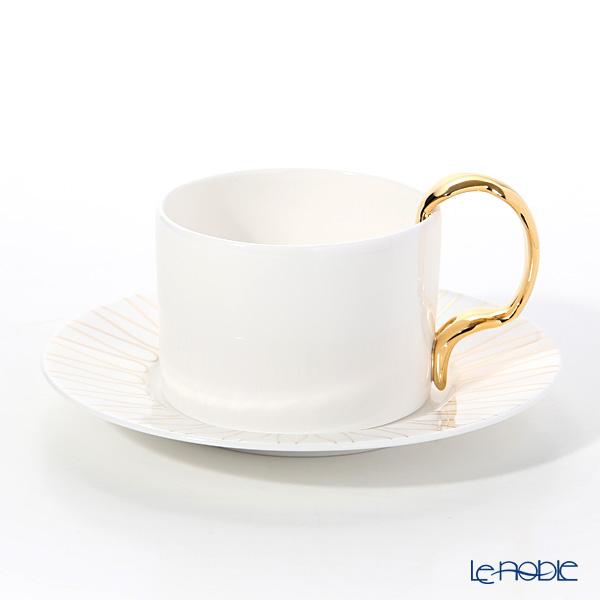 Twig NEW YORK カトラリー コレクションカップ&ソーサー (フォーク ハンドル)