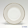 Hankook Chinaware Prouna Jewelry Princess Gold 21 cm salad plate with crystal