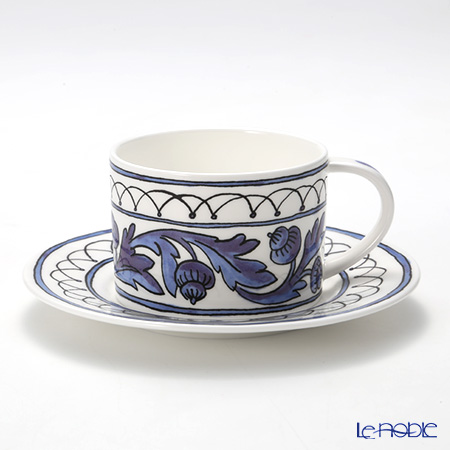 Twig New York Heritage Cup & Saucer, blue bird