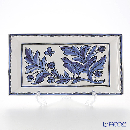 Twig New York Blue Bird Rectangular Plate 29 x 16 cm