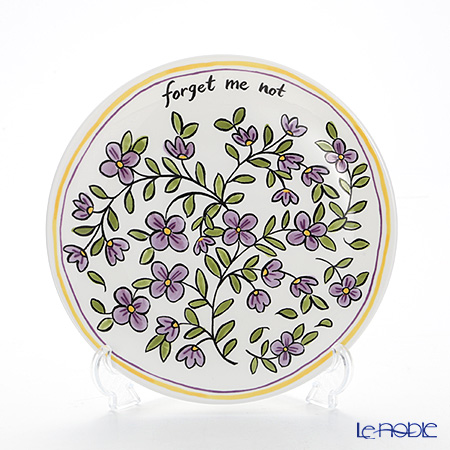 Twig New York Heritage Plate 21.5 cm, forget-me-not