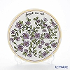 Twig New York 'Heritage' Forget Me Not (Purple) Plate 21.5cm