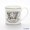 Twig New York 'Heritage' Forget Me Not (Purple) Mug 380ml