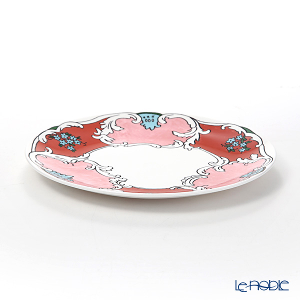 Twig New York 'Always' Camille (Pink / Red) Plate 21.5cm