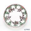 Twig New York 'Always' Marie (Pink / Green) Plate 21.5cm