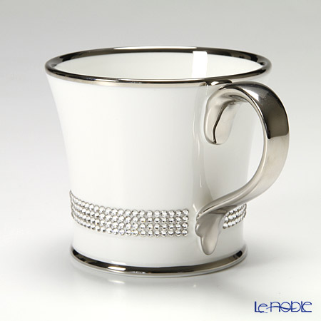 Prouna 'Jewelry - Chain' Crystal / Platinum Mug 250ml