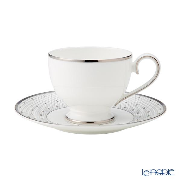 Prouna 'Jewelry - Princess' Platinum Tea Cup & Saucer 250ml