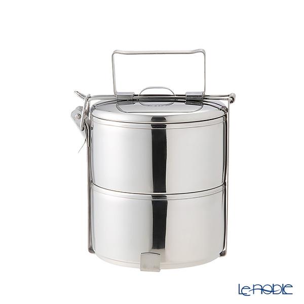 シーガル フードキャリア 弁当箱(ランチボックス) ステンレス 10×2