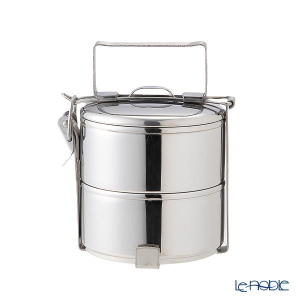 シーガル フードキャリア 弁当箱(ランチボックス) ステンレス 12×2