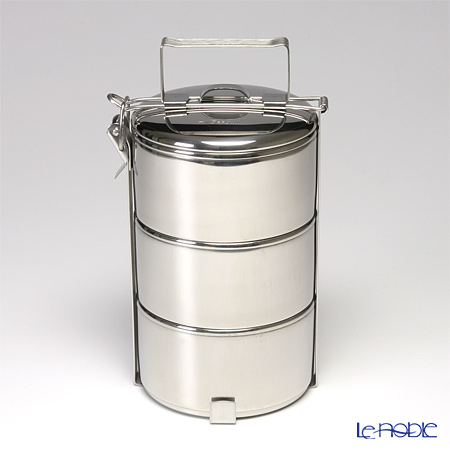 Seagull 'Stainless' 3 Tier Food Carrier 11.5cm