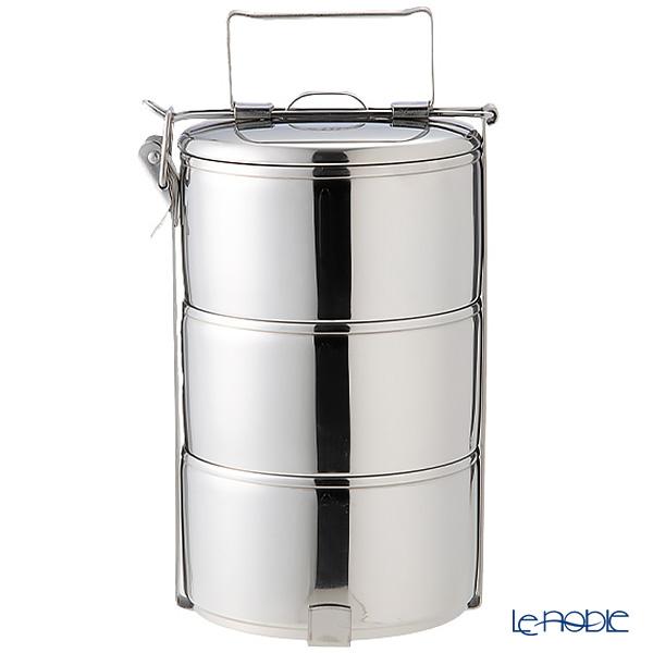 シーガル フードキャリア 弁当箱(ランチボックス) ステンレス 12×3