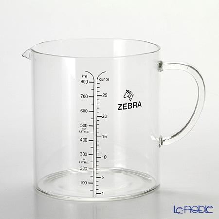 ゼブラグラスメジャーカップ 850ml