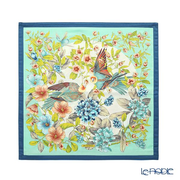 Jim Thompson Cushion Cover Cotton Ruffle 70002G Lovebird/Mint Green 45x45cm