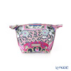 Jim Thompson 'Benjarong' Pink Coin Purse 14x7.5cm