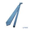 Jim Thompson 'Siamese and Elephant' Dark Blue PSB10313B Silk Necktie 150x8cm