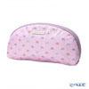 Jim Thompson 'Elephant Petit' Baby Pink Oval Pouch 17x10cm