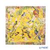 Jim Thompson 'Singing Bird' Yellow Silk Cushion Cover 46x46cm