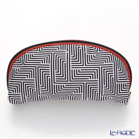 Jim Thompson 'Labyrinth' Black 11310049A Oval Pouch 17x10cm