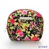Jim Thompson 'Red Little Flower' Black / Pink 1310044A Coin Purse 9.5x8.5cm