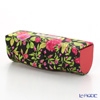 Jim Thompson 'Red Little Flower' Black / Pink 11310044A Lipstick Case 8.5x2.5cm