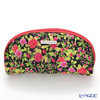 Jim Thompson 'Red Little Flower' Black / Pink 11310044A Oval Pouch 17x10cm