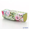 Jim Thompson 'Hibiscus Flower' Pink & Green 11310058A Lipstick Case 8.5x2.5cm