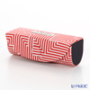 Jim Thompson 'Labyrinth' Red 11310049B Lipstick Case 8.5x2.5cm