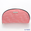 Jim Thompson 'Labyrinth' Red 11310049B Oval Pouch 17x10cm