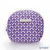 Jim Thompson 'Love Elephant & Flower' Purple 1136475D Coin Purse 9.5x8.5cm