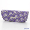 Jim Thompson 'Love Elephant & Flower' Purple 1136475D Eyewear Case 16x6cm