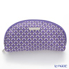 Jim Thompson 'Love Elephant & Flower' Purple 1136475D Oval Pouch 17x10cm