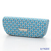 Jim Thompson 'Love Elephant & Flower' Blue 1136475B Eyewear Case 16x6cm
