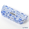 Jim Thompson 'Elephant Arabesque' White Blue 1135442C Eyewear Case 16x6cm