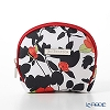 Jim Thompson 'Red Flower / Black Leaf' White 11310071A Coin Purse 9.5x8.5cm
