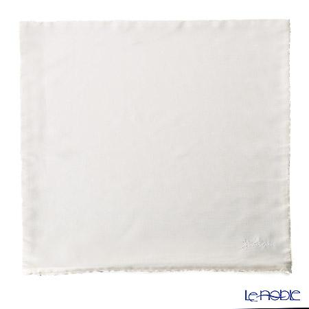 ジムトンプソン クッションカバー シルク 110001無地 ホワイト