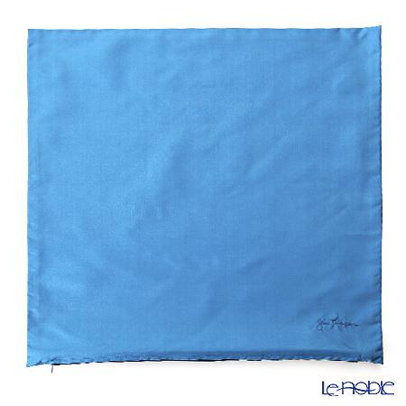 ジムトンプソン クッションカバー シルク 110627無地 ブルー
