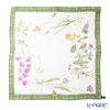 Jim Thompson silk scarf square PSB8367A Taiflower green frame