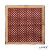 ジムトンプソン コットンハンカチ(L) 45×45cmブラウンゾウ イン スクエアレッド(ブラウン) 9561B
