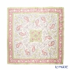 Jim Thompson silk scarf square PSB8471B Paisley pink / light green