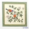 Jim Thompson cotton handkerchief (L) 2849605 A Byrd beige / Green