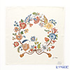 Jim Thompson 'Flower Rope' Ivory PSB9585A Silk Handkerchief 46.5x46.5cm (L)