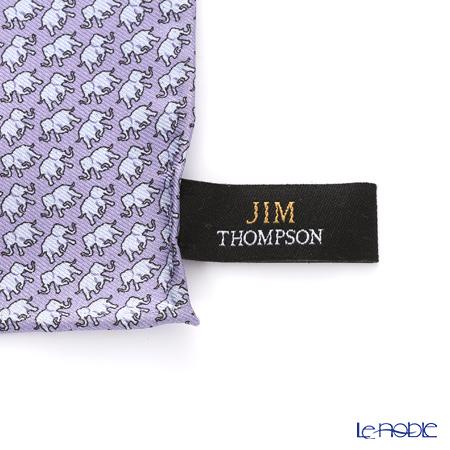 Jim Thompson Silk Pocket Chief, Elephant Lost in, light purple, PSB4792Q