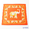 Thompson Cushion cover cotton ruffle 2249650C Elephant ball play Orange