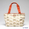 Jim Thompson 'Elephant Letter' Beige PCB4859B Tote Bag 39x23cm