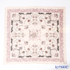Jim Thompson silk scarf square PSB8575E Pink sow frame leaf pink