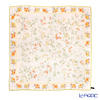 Jim Thompson silk scarf square PSB9494E Zouframe flower beige