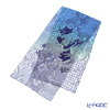 Jim Thompson silk long scarf 1428634B Ancient plant blue