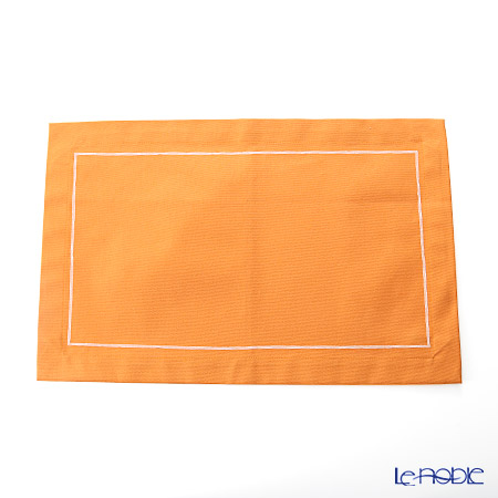 ジムトンプソン プレースマット PCB0148Cオレンジ