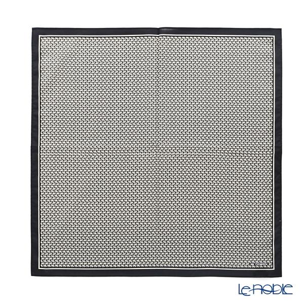 ジムトンプソン コットンハンカチ(L) 45×45cmゾウホワイト/コン 2849694A